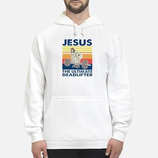 Jesus The Ultimate Deadlifter Vintage Shirt 6