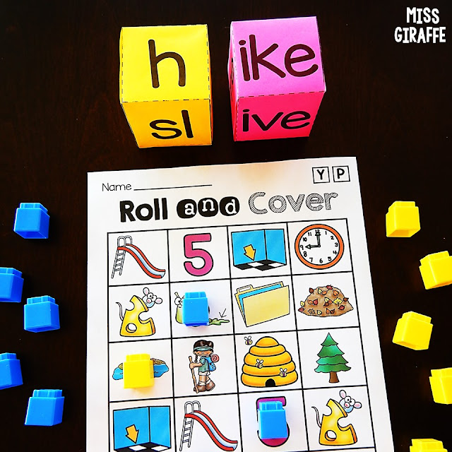 Long Vowel Games that are so fun to practice reading words with silent e!