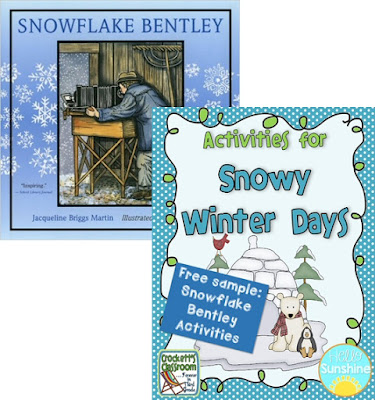 Check out this free activity that goes along with a wonderful book about Snowflake Bentley.