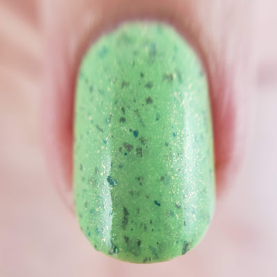 girly bits cosmetics, springles, indie lacquer, indie polish, nail polish, spring nails, spring, pastel, pastel polish, flakie polish, crelly, nail art, nail supplies, indie maker, handmade