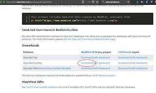 Wordpress Woocommerce: La Base de datos GeoIP de MaxMind no existe - la Geolocalización no funcionará. Descargando la base de datos de geolocalizaciones.