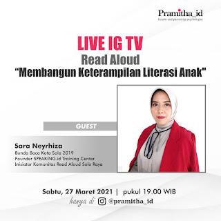 PRAKTISI READ ALOUD INDONESIA