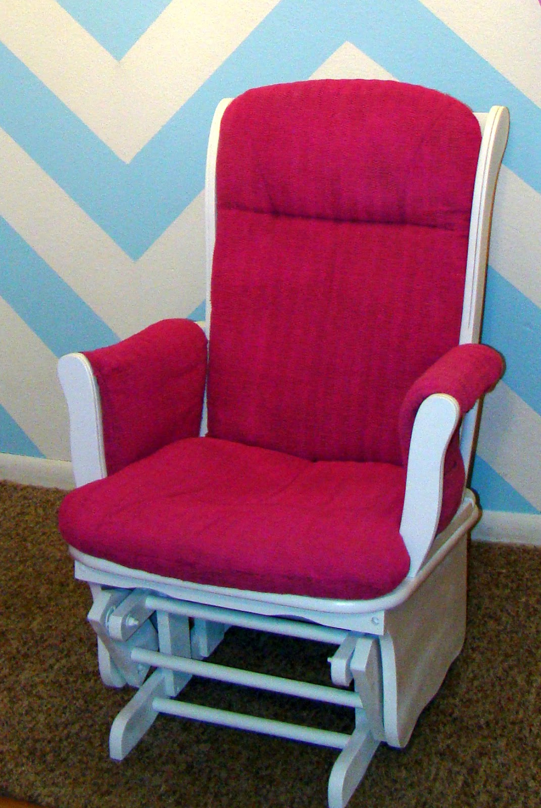 Pink Rocking Chair Cushions Thrift And Thriftability Project Gallery