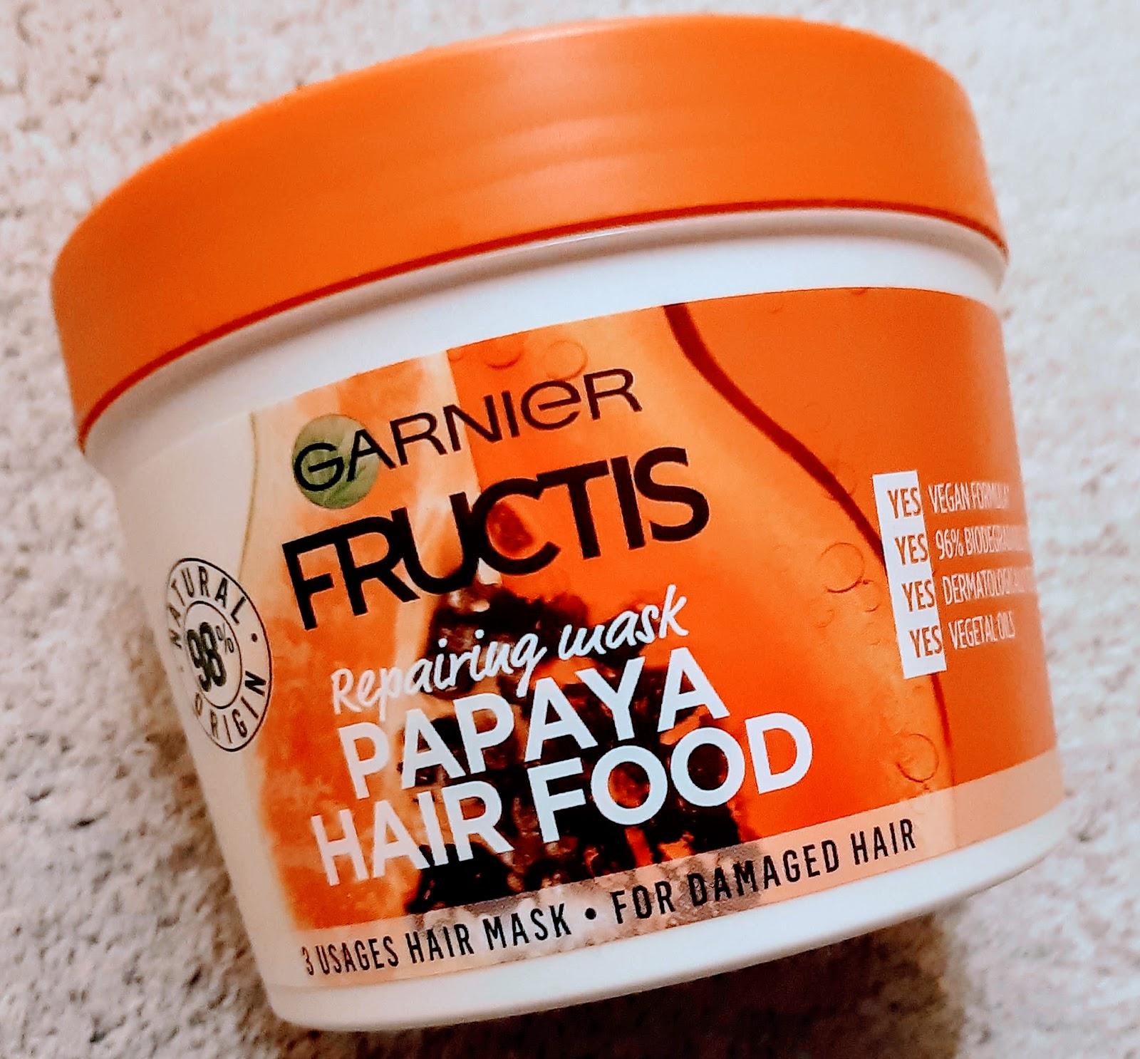 MonalisaBeautyEriAnna  Garnier Fructis Papaya Hair Food 1a6a212bab1