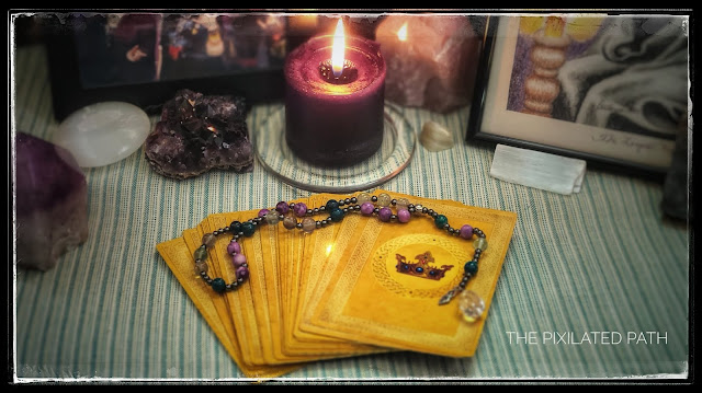 Goddess Guidance Oracle Cards and Pagan Prayer Beads