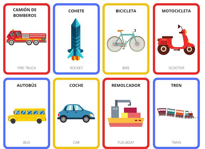 public transportation in Spanish