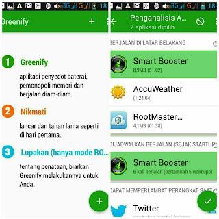 Cara menggunakan aplikasi Greenify
