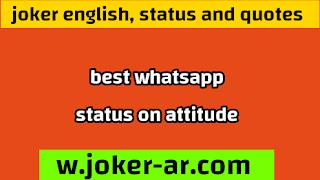 Best Whatsapp Status on Attitude Status Fb for you 2021 - joker english