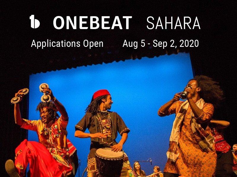OneBeat Sahara Fellowship 2021 for Musicians