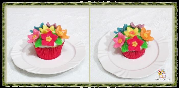 Cupcake de coco com nozes 21