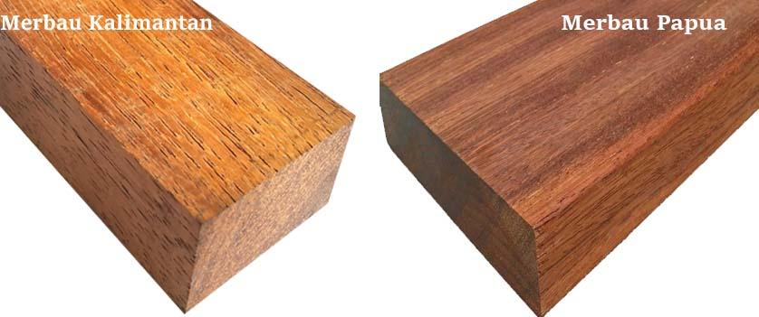 kayu merbau papua