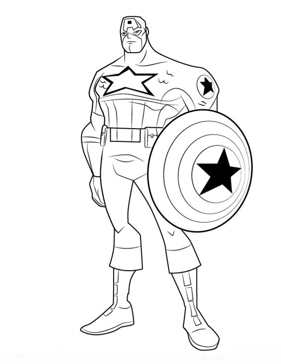 Super Herois Marvel Colorir
