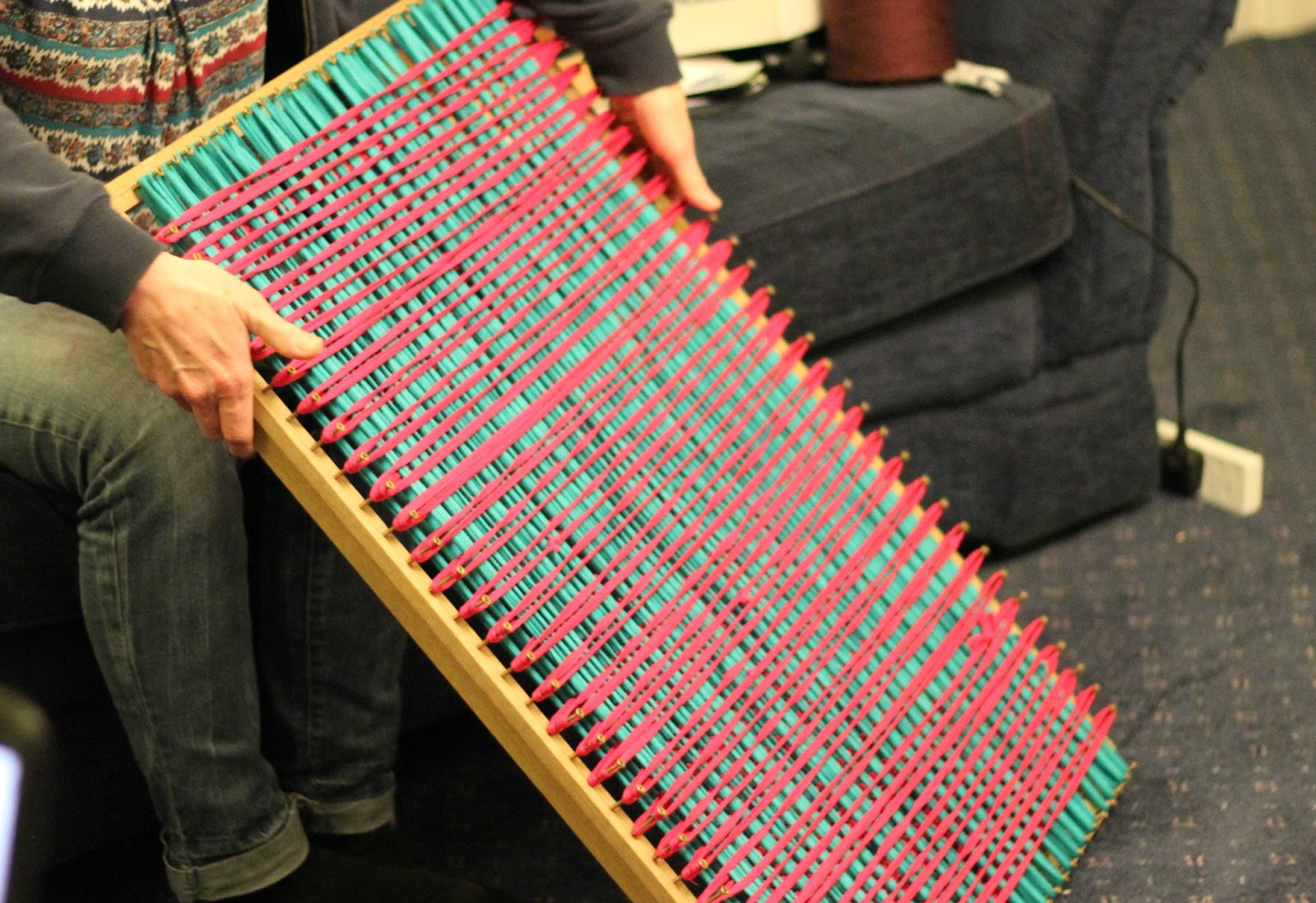 Colours Of Northern Ireland Build Your Own Rug Loom
