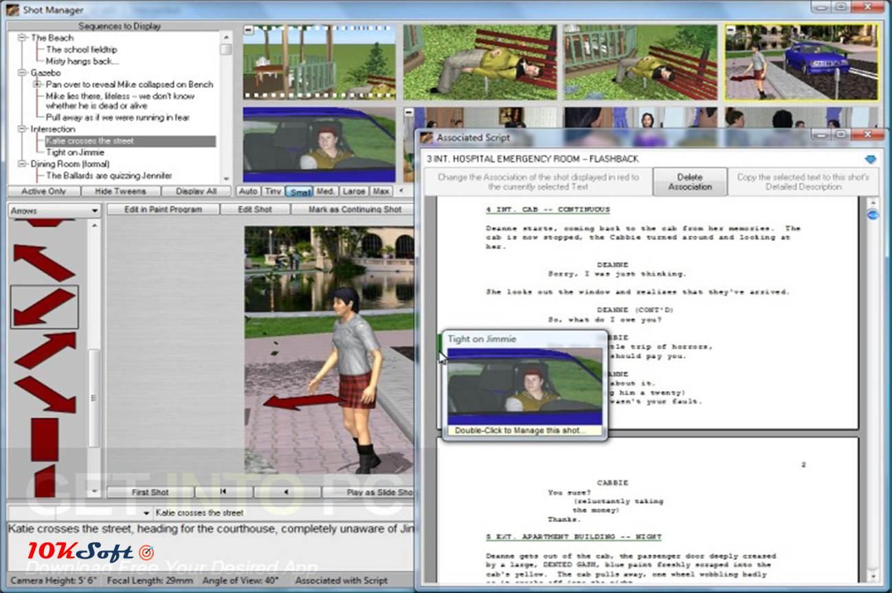 FrameForge Storyboard Studio Pro Free Download - 10kSoft