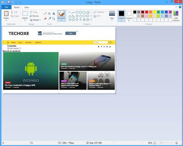 How to Take Screenshot on Laptop windows + Shift + S