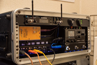 SSPH-HG はコンパクトなのでエフェクトシステムへの組み込みも容易
