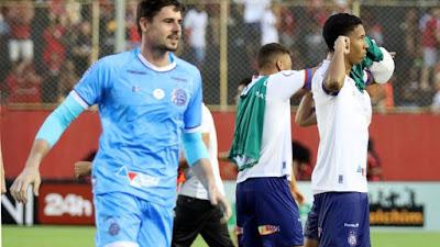 Futebol Baiano, Bahia fica no empate com o Doce Mel e sai vaiado da Arena Fonte Nova
