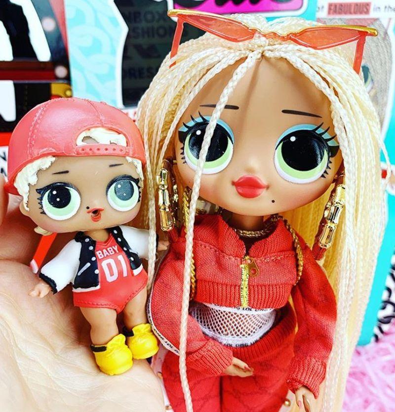 Модные куклы L.O.L. Surprise O.M.G. Doll ростом как Барби