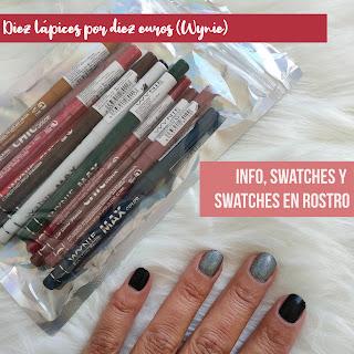 Set de lápices automáticos de Wynie por 10 euros