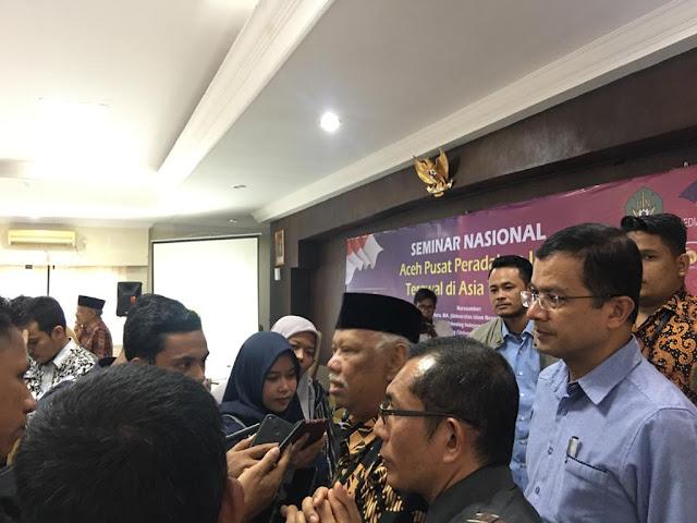 Prof Azyumardi Azra: Aceh Sebagai Pusat Peradaban Terawal di Asia Tenggara