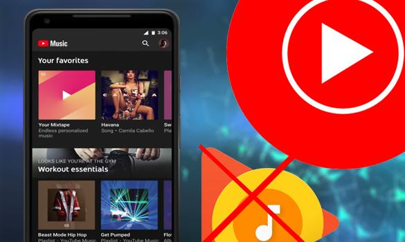 تطبيق Youtube Music سيأتي محمل مسبقا على نظام أندرويد 10