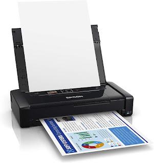 Epson Workforce WF-110 Wireless Mobile Printer Drivers Download