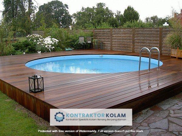 desain kolam renang pool Pekanbaru