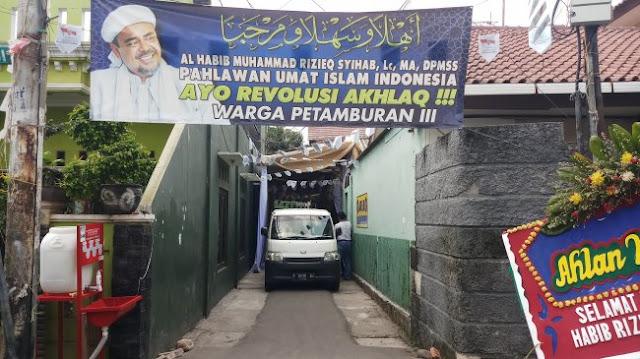 Bidik Tersangka, Polisi Ambil CCTV di Sekitar Acara Habib Rizieq