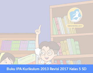 Buku IPA Kurikulum 2013 Revisi 2017 Kelas 5 SD