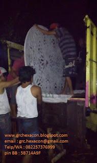 pengiriman krawangan masjid Semarang