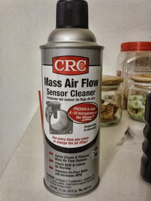 We are Free to Fly   : CRC Mass Air Flow Sensor Cleaner