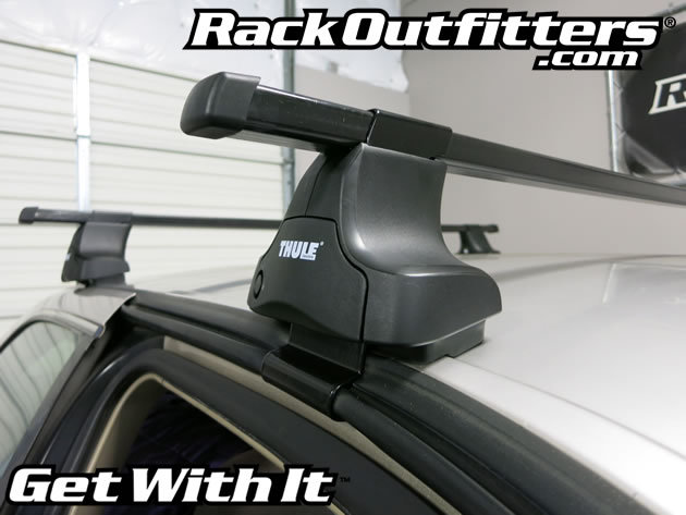 Toyota Camry Thule Traverse Square Bar Roof Rack 97 01