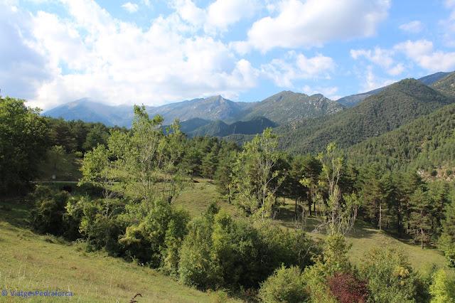 Alt Berguedà, senderisme, rutes a peu per Catalunya, art romànic