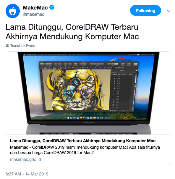 cara download coreldraw untuk macbook
