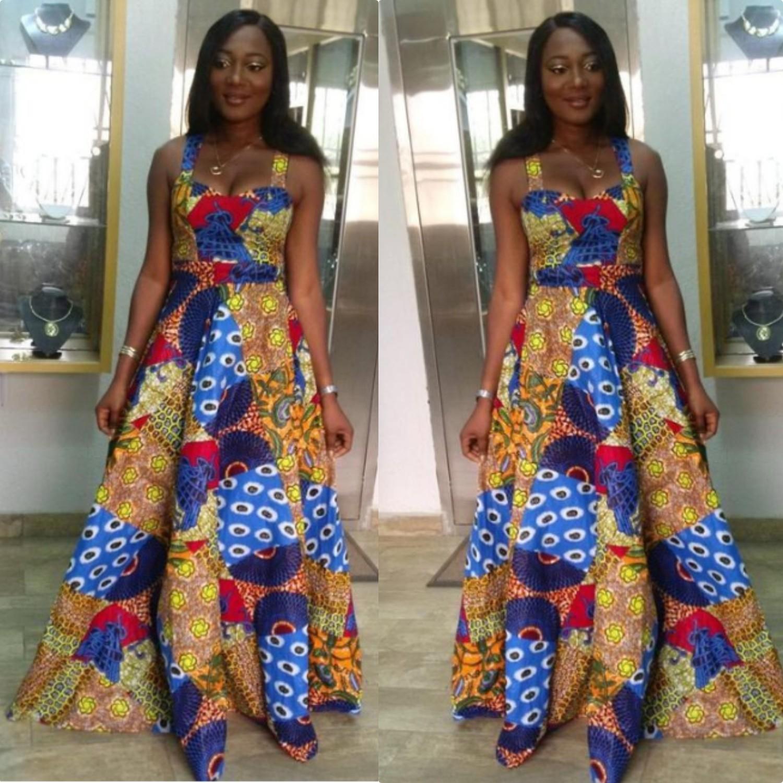 Short Kitenge Dresses Great Colors & Designs