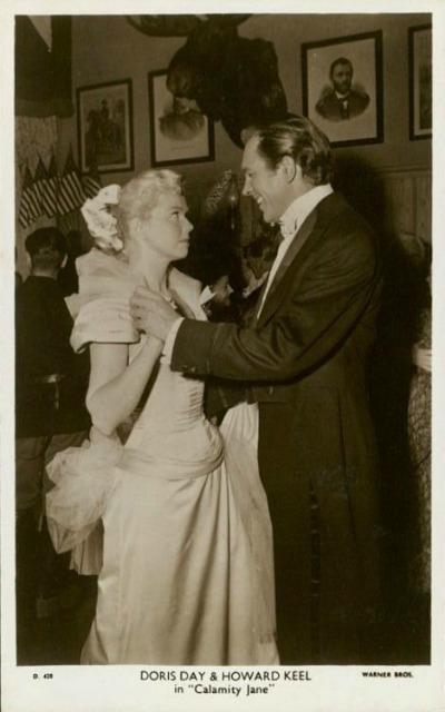 Doris Day and Howard Keel in 1953 Calamity Jane  Howard Shoup Costume Designer