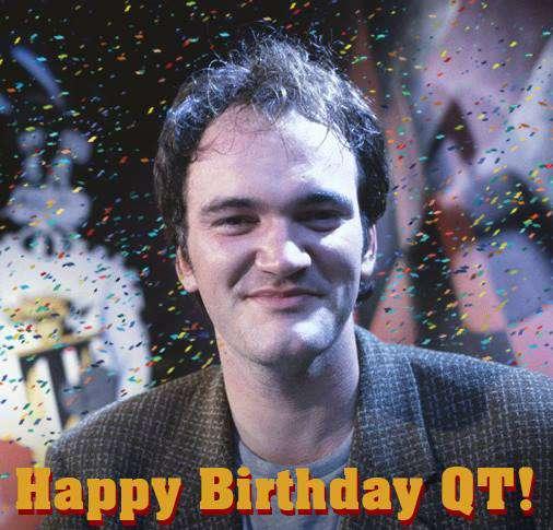 Quentin Tarantino's Birthday Wishes Photos
