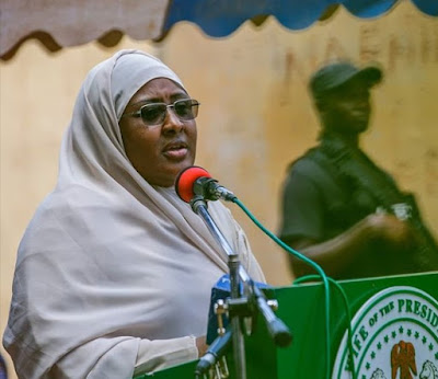 """Aisha Buhari reportedly drops """"wife of the president"""" title"""