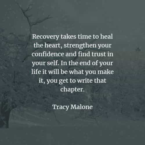 Recovery quotes that will make yourself whole again