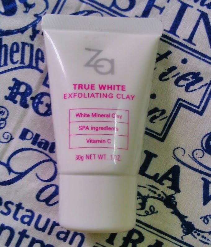Za true white exfoliating clay - Review