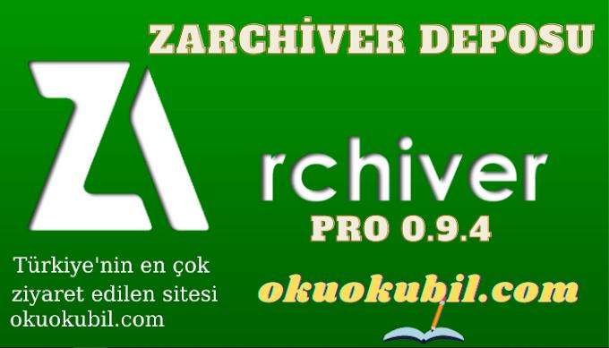 ZArchiver Pro 0.9.4 ZArchiver Deposu Apk İndir 2021
