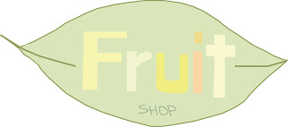 FRUIT SHOP LEAF LOGO