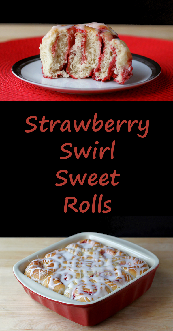 Strawberry Swirl Sweet Rolls