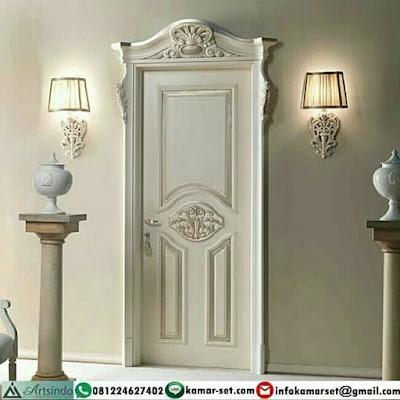 Desain pintu rumah minimalis 1 pintu