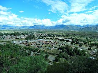 Cidade de Mendoza - Vista do Cerro de La Gloria, Parque General San Martín