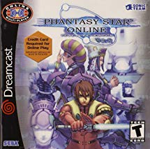 Phantasy Star Online Dreamcast cover art