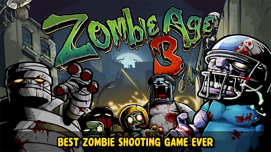 Zombie age 3 Apk+Data Free on Android Game Download