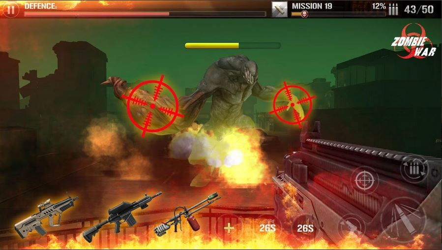 Download Zombie Defense Shooting MOD APK 1
