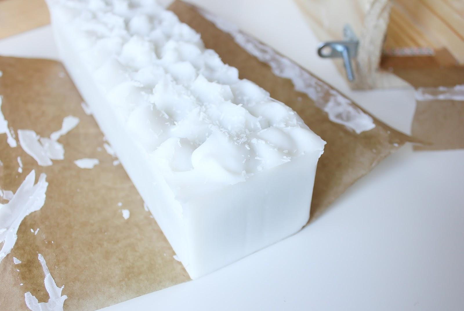 recette facile savon saponifié à froid tout coco saponification