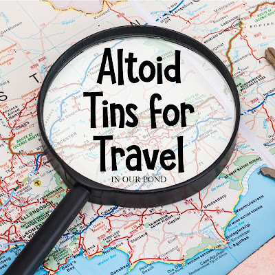 Altoid Tins for Travel from In Our Pond